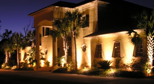 residential landscape lighting briarcliffe acres myrtle beach sc